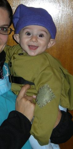 Baby Dopey costume from snow white