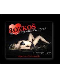 Erotická hra pre dospelých - ROZKOŠ
