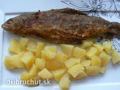 Pstruh na masle Steak, Food, Fish, Kochen, Steaks, Hoods, Meals, Beef