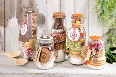 Anleitung: Backmischungen im Glas mit Rezept für bunte Cookies - Kostenlose Anleitung. ✓ Einfach nachzumachen ✓ Material online bestellen ✓