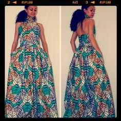 African Print Maxi Skirt by Melange Mode ~Latest African Fashion, African Prints, African fashion styles, African clothing, Nigerian style, Ghanaian fashion, African women dresses, African Bags, African shoes, Nigerian fashion, Ankara, Kitenge, Aso okè, Kenté, brocade. ~DKK