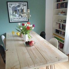 DIY Projekt: Ein Tisch Aus Baudielen
