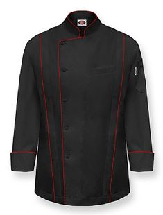 """""""MASTER"""" Chef Coat-Black"""