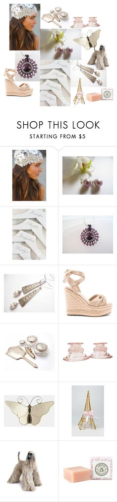 """""""Wedding Thoughts"""" by inspiredbyten ❤ liked on Polyvore featuring Kendall + Kylie, Farfalla and vintage"""
