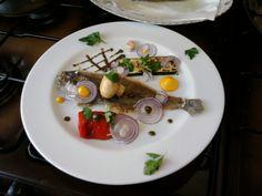 JHS  / Sole  avec les légumes grillés à la sauce tapenade Gino D'Aquino