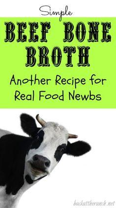 Simple Beef Bone Broth