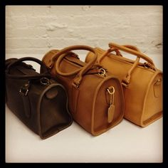 Classic Coach Madison Satchels from the 80s #throwbackthursday #tbt
