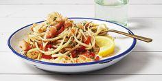 Lemony Crab Linguine Recipe - Good Housekeeping Pasta Recipes
