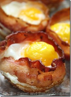 Egg cup breakfast