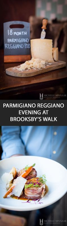 {RESTAURANT REVIEW} Parmigiano Reggiano, the famous Italian hard cheese that you sprinkle on pasta, is served in every dish in a 7-course meal at Brooksby's Walk. Divine! @brooksbywalk @parmesanuk