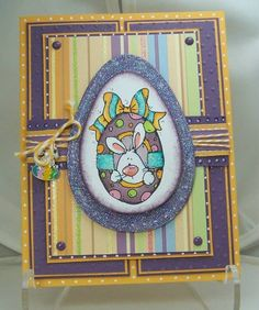 Easter bunny egg... by diannep575 - Cards and Paper Crafts at Splitcoaststampers