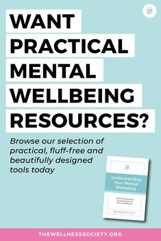 Browse our wide range of practical mental health resources at thewellnesssociety.org today #selfhelp #mentalhealth #mentalwellbeing Mental Health And Wellbeing, Mental Health Resources, Health Advice, Dealing With Difficult People, Invite, Invitations, Anxiety Tips, Panic Attacks, Anxiety Relief