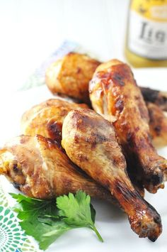 8 chicken drumsticks 2 cups of Lucilles Smokin Sauce BBQ Chicken Drumsticks Crockpot Recipe Directions This is as easy as it gets for people pressed for time like me. Just marinate the drumsticks for about 30 minutes in the BBQ sauce. I also add some chopped cilantro in for added look and flavor. Add to the crockpot Recipe @ http://juliescafebakery.com/category/chicken/ #chicken #recipes #cooking #baking