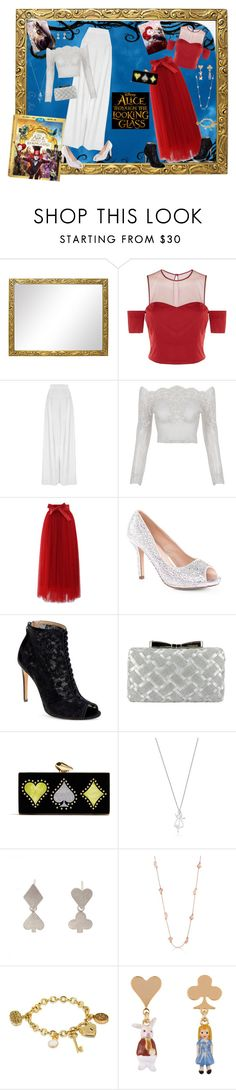 """""""Alice Through the Looking Glass - Mirana & Iracebeth"""" by selene-cinzia ❤ liked on Polyvore featuring Pinko, Hebe Studio, Chicwish, Lauren Lorraine, Badgley Mischka, Menbur, KOTUR, Sian Bostwick Jewellery, Les Néréides and contestentry"""