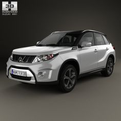 Suzuki Vitara S 2015 3d model from Humster3D.com.