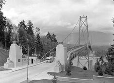 Inside Vancouver's Hidden Past – The Secret History of the Lions Gate Bridge… Vancouver Bc Canada, Vancouver Travel, Downtown Vancouver, Visit Vancouver, West Coast Canada, Underwater City, Lions Gate, Stanley Park, The Secret History