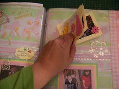 Scrapbooking: Adding a mini album to a page layout Scrapbook Blog, Scrapbooking, Page Layout, Mini Albums, Ads, Personalized Items, Pretty, Scrapbooks, Layout Design