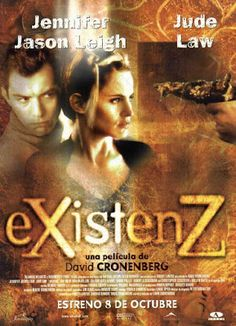 BOEMIA CIGANA: eXistenZ - de David Cronenberg (1999)