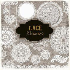 "Freebies Elements - ""Lace Elements""."