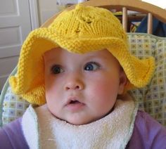 one day i'll take some better photos! This sweet sun hat will take your baby or toddler from the playground to the beach and back again. ...