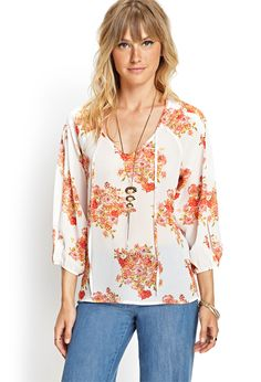 Shop a variety of styles in women's tops at Forever Find knit and woven blouses, cami's, tees, sweaters, short and long sleeve tops for women! Pretty Outfits, Cool Outfits, Pretty Clothes, Work Clothes, Boho Fashion, Fashion Outfits, Teen Fashion, Contemporary Dresses, Blouses For Women
