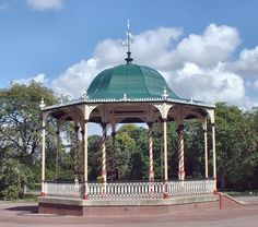Bandstand In West Park Wolverhampton Built 1882