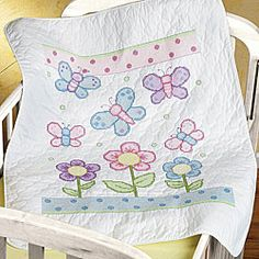 Butterfly Baby Quilt