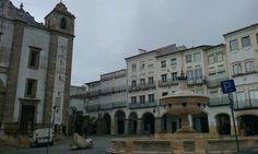 Rainy days in Evora
