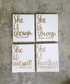 Canvas sign- dorm room decor- dorm room sign- girls nursery/room- custom canvas art- quote- canvases- she is fearless. Bible verses/ canv girls nursery/room custom canvas art quote canvases by AHalOfAGirl Bible Verse Canvas, Canvas Art Quotes, Canvas Signs, Bible Verses, Scripture Quotes, Nursery Room, Girl Nursery, Nursery Canvas, Girls Bedroom