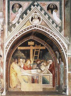 Cappella Bardi di Vernio - Santa Croce -  Firenze, affrescata da Maso di Banco - 1340 circa - con Storie di San Silvestro - sono tra le opere in assoluto più riuscite della scuola di Giotto.