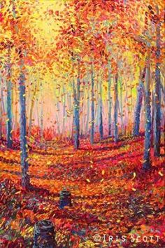 Autumn Sunlight by Iris Scott