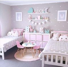 Shared bedroom inspo