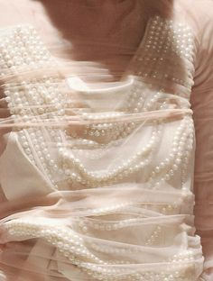 Pearls and Blush ~