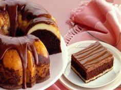 Fudge Ribbon Cake from FoodNetwork.com