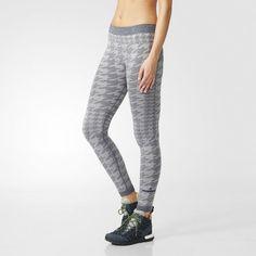 adidas Wintersports Seamless Wool Tights - Grey | adidas Finland