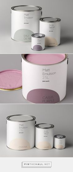 Charlie Smith Design — Paint Packaging