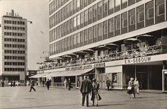 Coolsingel, hoek Hofplein, Rotterdam 1962 ©Spanjersberg, Rotterdam