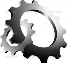 3D Interlaced Cogs