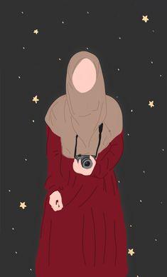 Original Iphone Wallpaper, Phone Wallpaper Images, Cat Wallpaper, Grafic Art, Islamic Cartoon, Anime Muslim, Hijab Cartoon, Cute Couple Art, Cartoon Art Styles