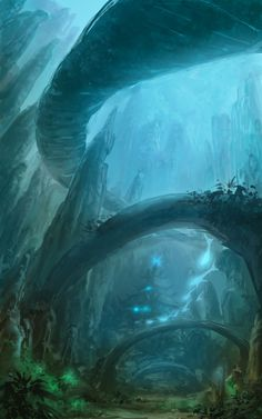 Underwater Palace by ponponxu.deviantart.com on @deviantART