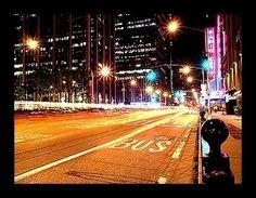 Lights of a city