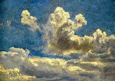 Cloud Study John Constable - circa 1821-1822