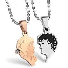Virgin Shine Stainless Steel Rhinestones Lovers Portrait Couple Pendant Necklace VIRGIN SHINE http://www.amazon.co.uk/dp/B00MZZTZT0/ref=cm_sw_r_pi_dp_UrZCub0FY91Q1