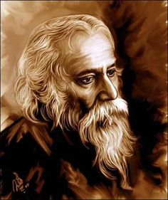 Dear Ladies, This is one of the most beautiful poems written by Rabindranath Tagore. Portrait Sketches, Portrait Art, Portraits, Ms Dhoni Photos, Blur Photo Background, Miniature Photography, Rabindranath Tagore, Famous Poets, Poems Beautiful