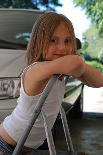 Cute Girl Bending Over