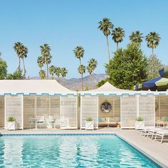 Vacation Hotel in Palm Springs Palm Springs Hotels, Parker Palm Springs, The Time Is Now, Outdoor Living Areas, Cool Pools, Weekend Getaways, Places To See, Around The Worlds
