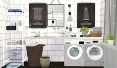 Sims 4 CC's - The Best: Pictures for Bathrooms by Viikiitas Stuff