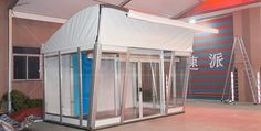 3 x 5 m Half Dome Tent for Exhibition Booth [SS series] - Half Dome Tent - Superb Tent Manufacturer