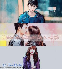 W – Two Worlds #korean #drama