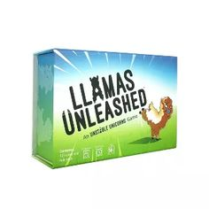 Llamas Unleashed Easy Party Base Card Game